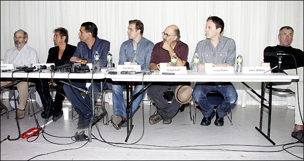 Daniel Sullivan, Al Pacino, Bobby Cannavale, David Harbour, Richard Schiff, Jeremy Shamos and John C. McGinley