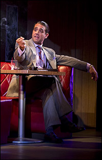Bobby Cannavale as Ricky Roma in <I>Glengarry Glen Ross.</I>