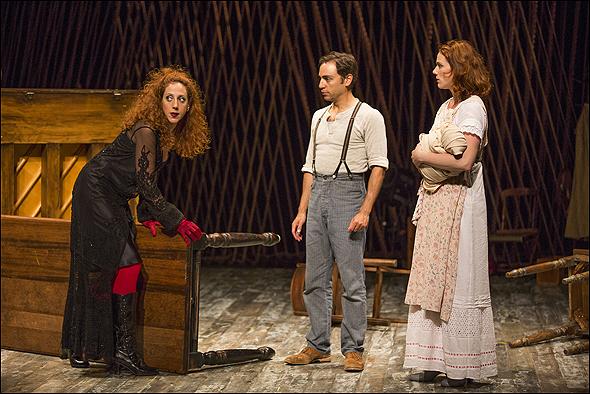 Alison Cimmet, Ben Steinfeld and Jessie Austrian