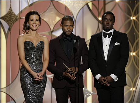 Kate Beckinsale, Usher and Sean Combs