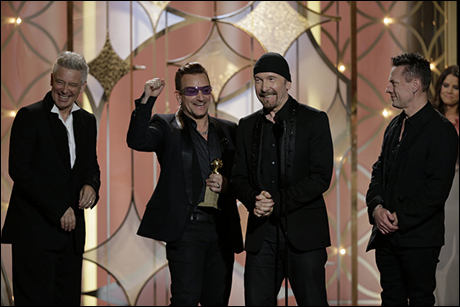 Adam Clayton, Bono, The Edge, Larry Mullen Jr