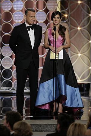 Tom Hanks and Sandra Bullock
