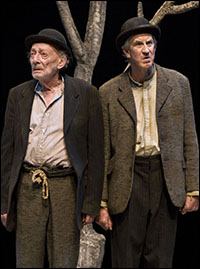 Alan Mandell and Barry McGovern in <i>Waiting for Godot</i>.