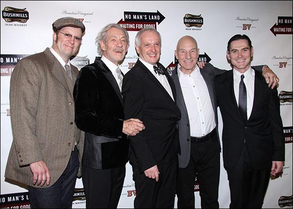 Shuler Hensley, Ian McKellen, Sean Mathias, Patrick Stewart and Billy Crudup