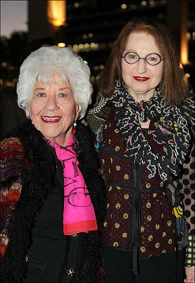 Charlotte Rae and Anna Silver