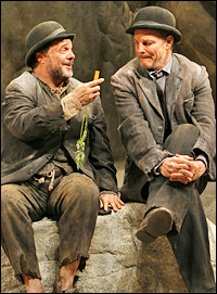 Lane and Irwin in <I>Waiting for Godot</I>