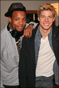 Wallace Smith and Hunter Parrish