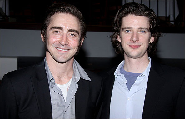 Lee Pace and Will Rogers