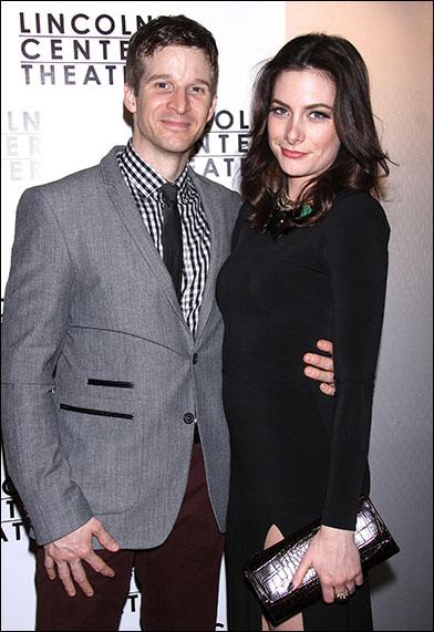 Brad Fleischer and Lauren McFall