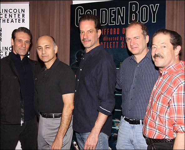 Anthony Crivello, Ned Eisenberg, Danny Mastrogiorgio, Daniel Jenkins and Jonathan Hadary