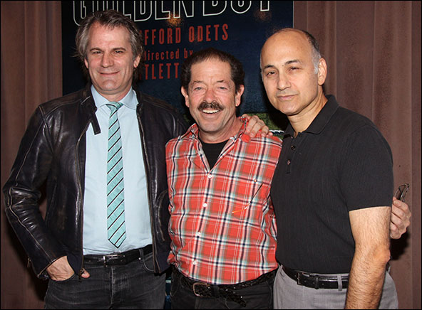 Bartlett Sher, Jonathan Hadary and Ned Eisenberg