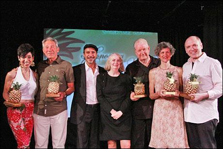 Sherry Eaker, Israel Horovitz, Tony Spinosa, Melba LaRose, Doric Wilson, Ellie Covan and Charles Busch