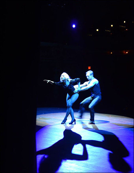 Getting to dance with Nathaniel Shaw as Zach is an honor... he is truly the best on stage partner I've ever had.