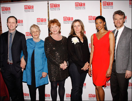 Patrick Carroll, Estelle Parsons, Becky Ann Baker, Frances McDormand, Renee Elise Goldsberry and Tate Donovan