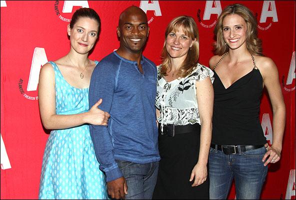 Zoe Perry, Andrew Stewart-Jones, Kelly McAndrew and Jessica Cummings