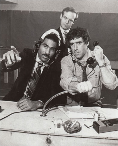 Geoffrey C. Ewing, James Gleason and Elliott Gould in The Guys In The Truck