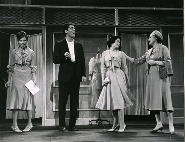 Barbra Streisand, Elliott Gould, Marilyn Cooper and Lillian Roth in  I Can Get It For You Wholesale