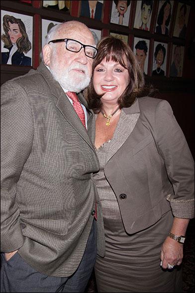 Edward Asner and Charlotte St. Martin