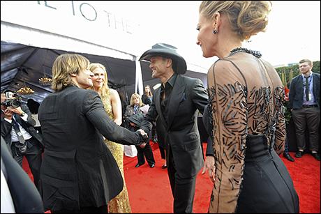 Keith Urban, Nicole Kidman, Tim McGraw and Faith Hill