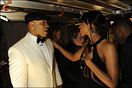 LL Cool J and Kelly Rowland