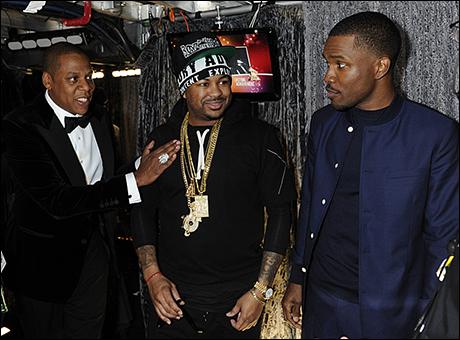 Jay-Z, The-Dream, & Frank Ocean