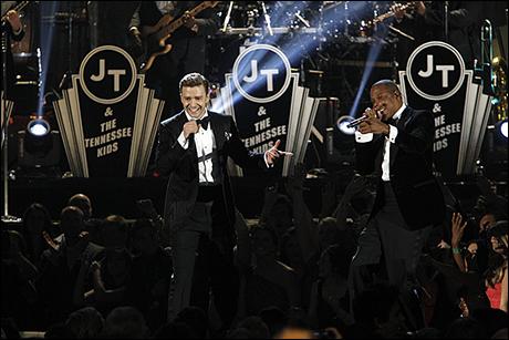Justin Timberlake and Jay-Z