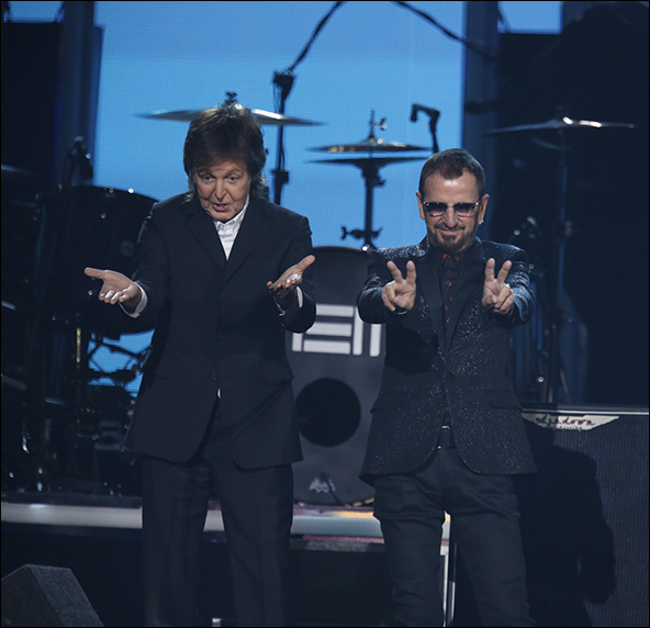 Paul McCartney & Ringo Starr