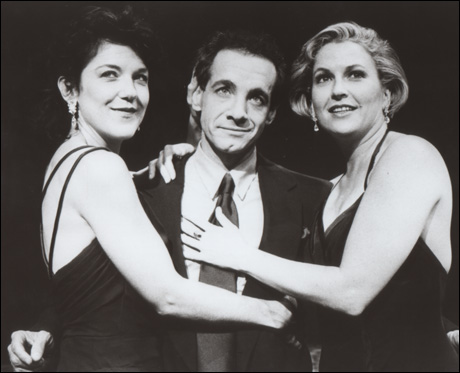 Victoria Clark, Jason Graae and Alyson Reed in A Grand Night for Singing, 1993
