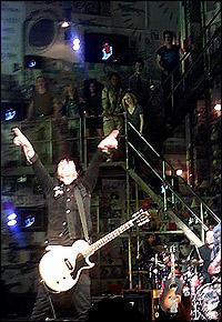 Billie Joe Armstrong and <I>American Idiot</I> company