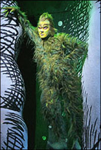 Patrick Page in the 2006 Broadway production of <i>Dr. Seuss' How The Grinch Stole Christmas</i>