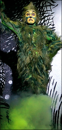 Original star Patrick Page as <i>The Grinch</i>.
