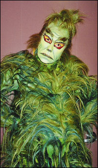 Patrick Page as The Grinch begins performances in <i>How the Grinch Stole Christmas</i>.