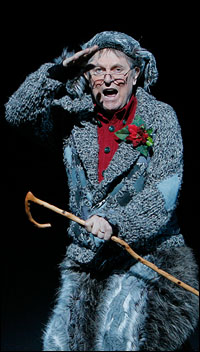 John Cullum as Old Max, the narrator of <i>How the Grinch Stole Christmas</i>.