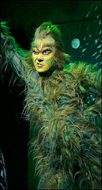 Patrick Page is <i>The Grinch</i>.