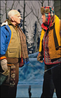 John Rubinstein and Conrad John Schuck in the Canadian world premiere of <i>Grumpy Old Men.</i>