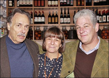 Arthur Kopit, Carol Ostrow and Jim Simpson
