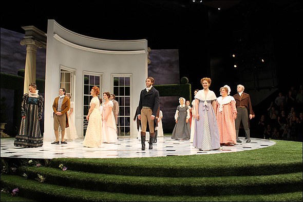 The cast of Pride and Prejudice