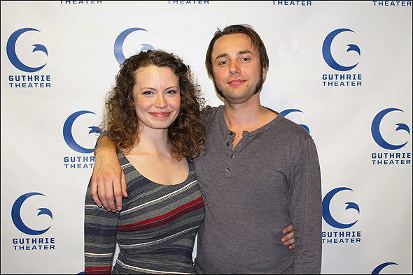 Vincent Kartheiser and Ashley Rose Montondo