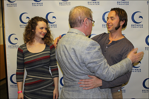 Ashley Rose Montondo, Joe Dowling and Vincent Kartheiser
