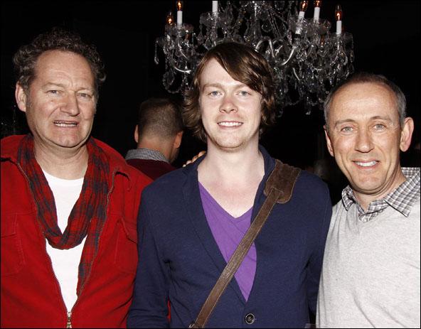 Richard Bean, Daniel Rigby and Nicholas Hytner