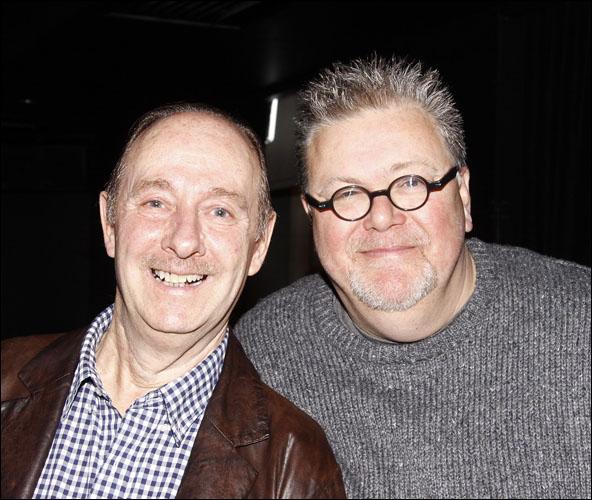 Fred Ridgeway and Martyn Ellis