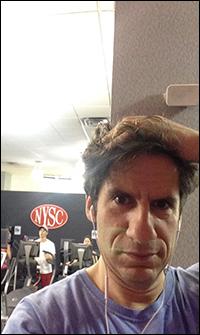 Seth at the gym