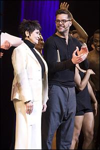Chita Rivera and Ricky Martin
