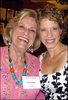 Publicist Shirley Herz and Teri Furr