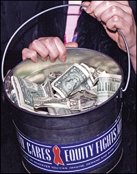 If you see this bucket, dig deep!