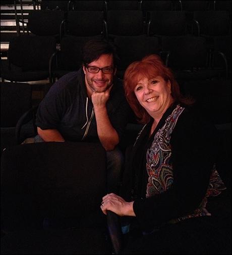 Director Joe Calarco and choreographer Karma Camp -- a true dream team!