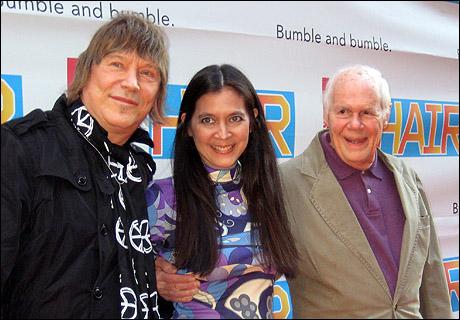 Bookwriter-lyricist James Rado, director Diane Paulus and composer Galt MacDermot