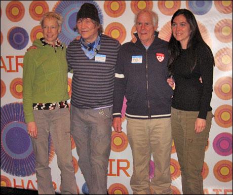 Karole Armitage, James Rado, Galt MacDermot and Diane Paulus