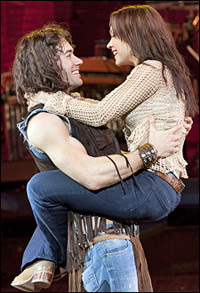<I>Hair</I> stars Ace Young and Diana DeGarmo