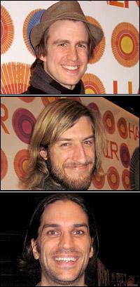 Gavin Creel, Bryce Ryness and Will Swenson